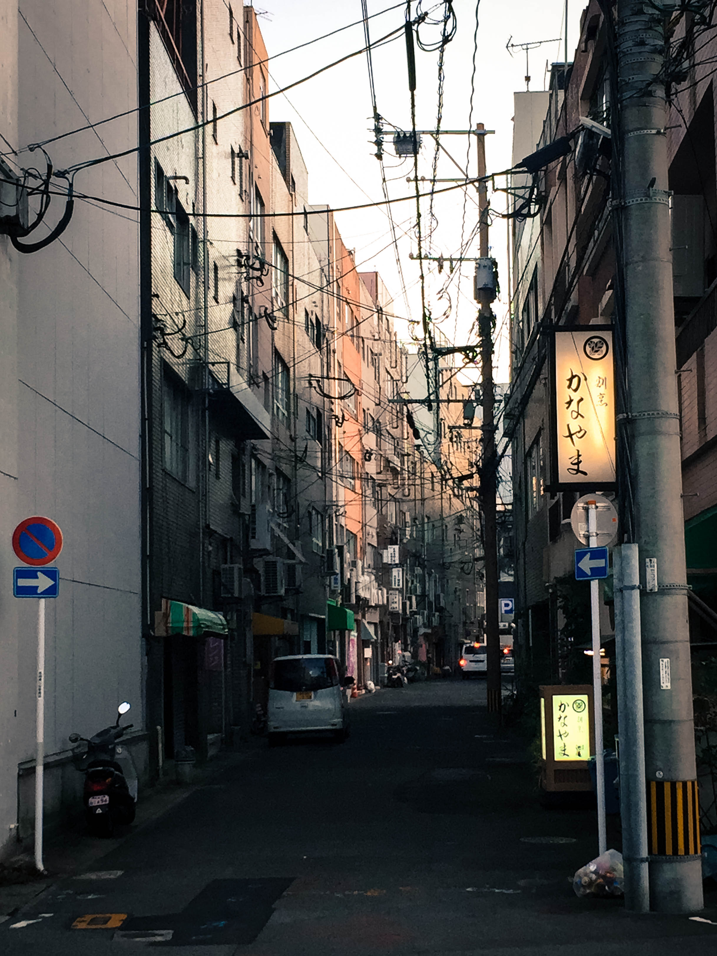 One of the better back alleys I've seen in my day