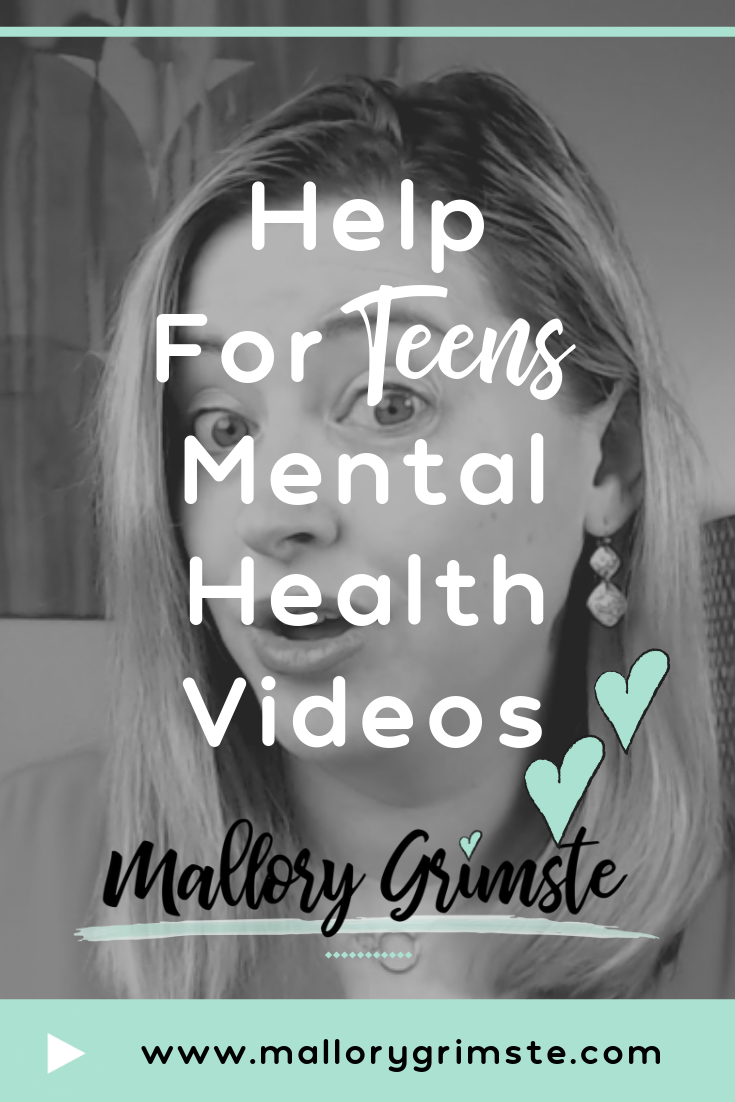 Video trailer for Mallory Grimste's YouTube Channel- Mental Health Videos for Teens