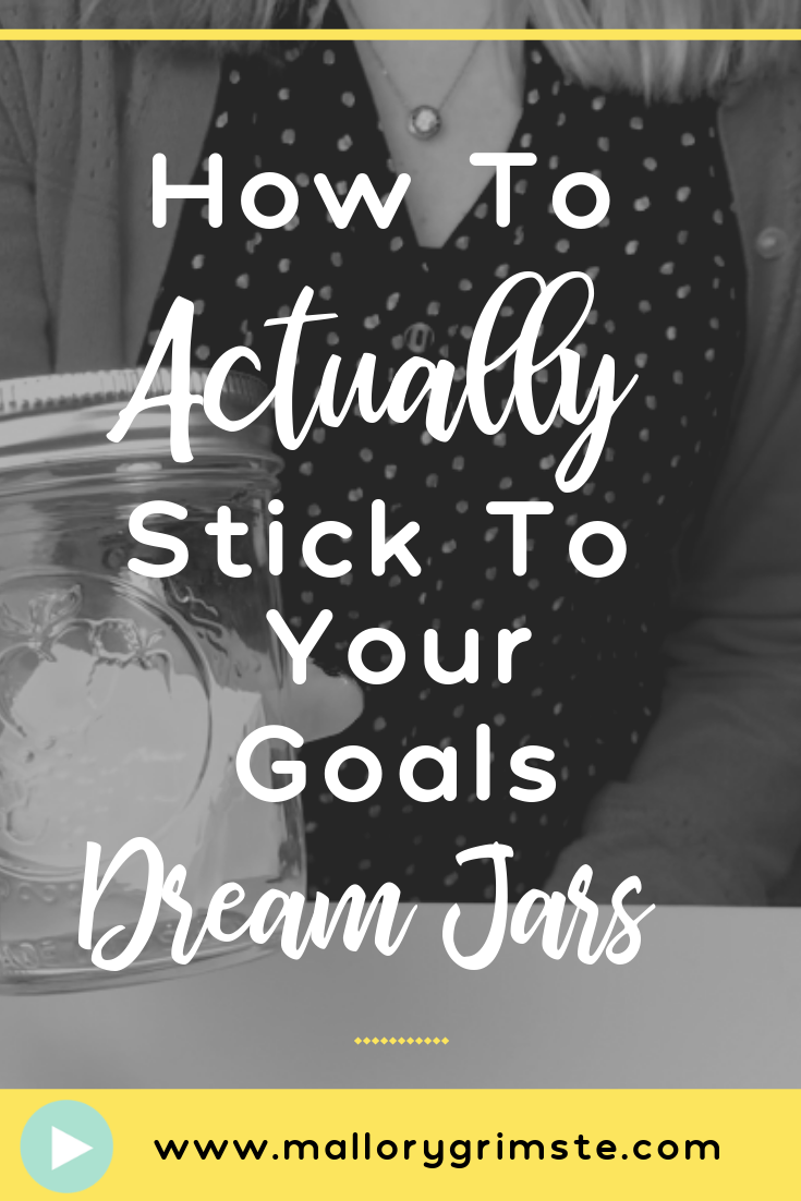 Video about How to Actually Stick to Your Goals Using Visualization and Dream Jars with Mallory Grimste, LCSW Teen Therapist