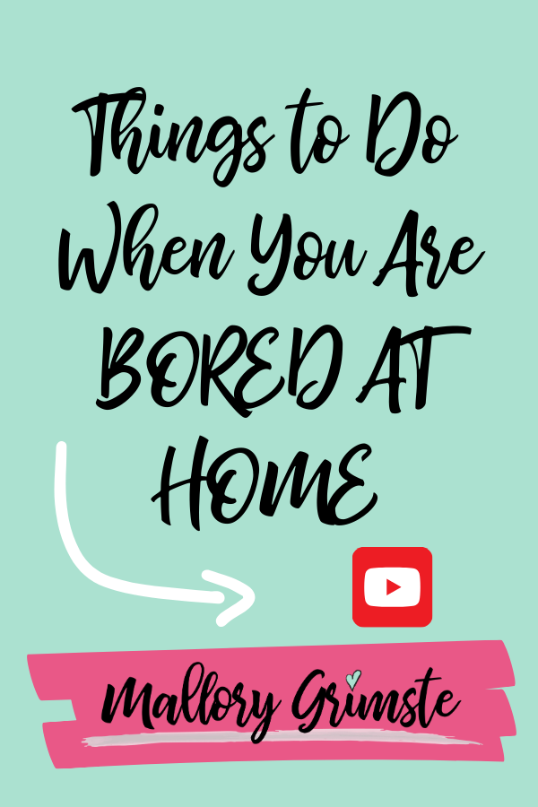 Home do when to your at good bored things 50 Things