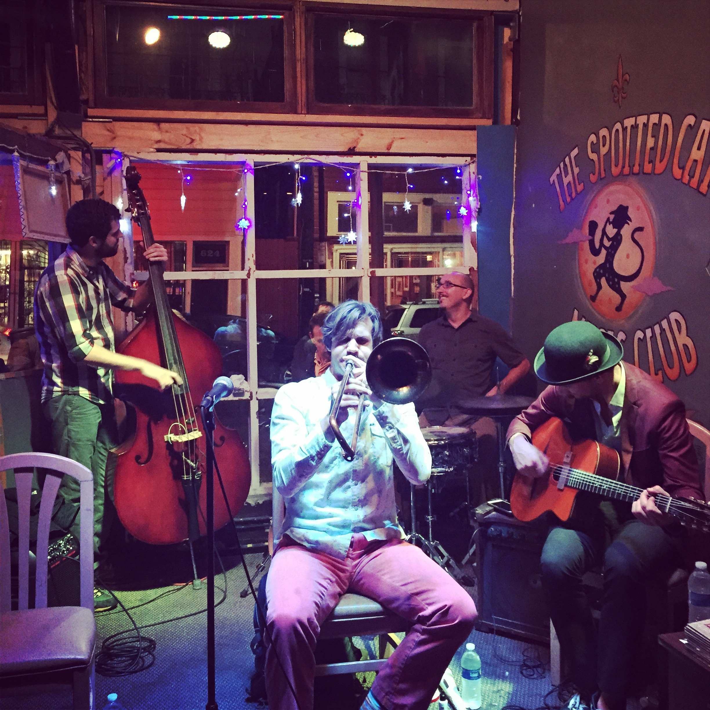 Frenchmen Street's Spotted Cat Music Club