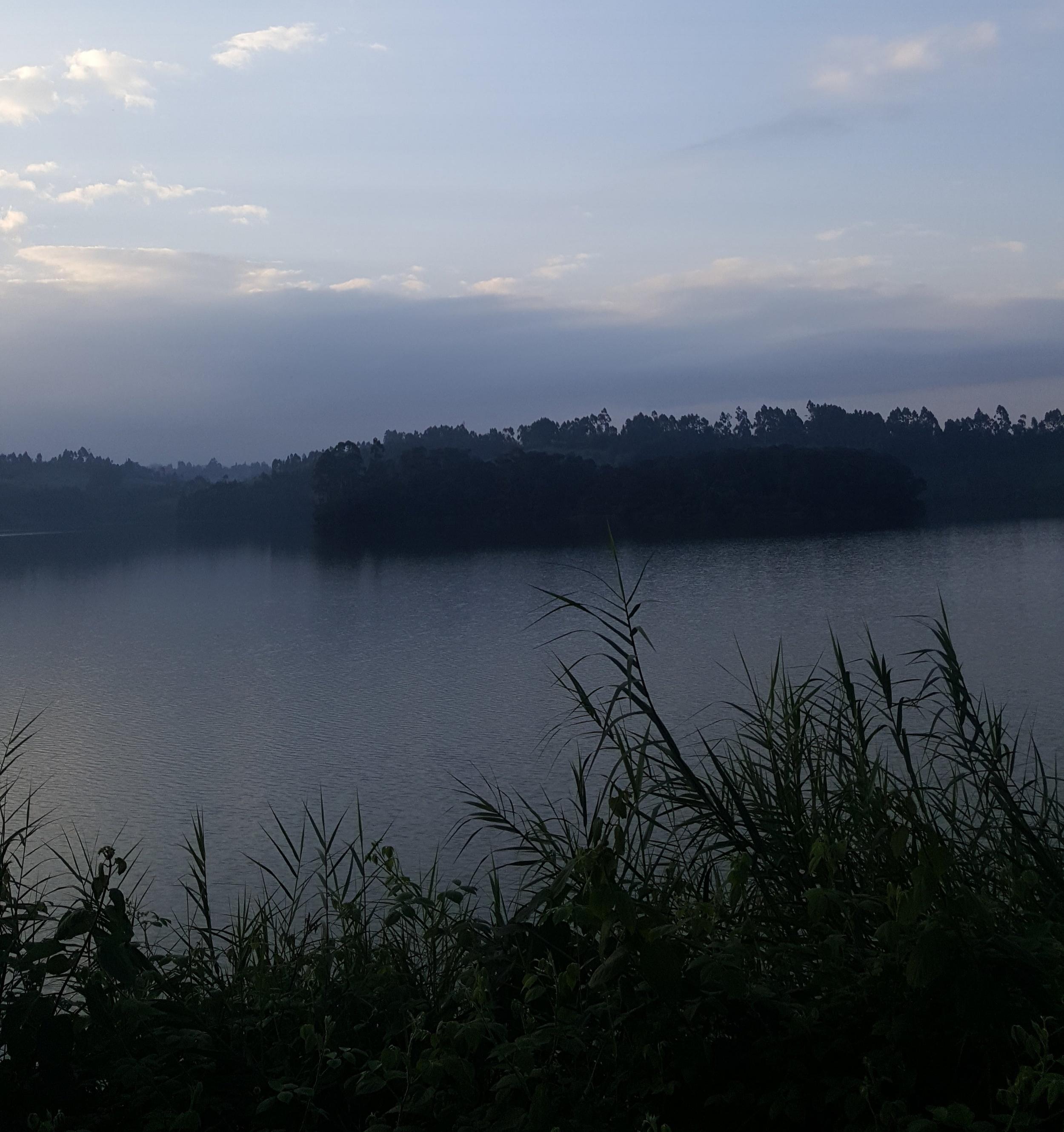 Ndakaini Dam near dusk