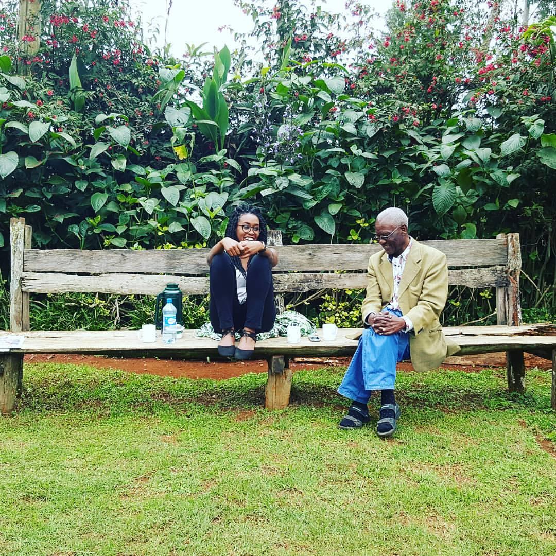 dad+me laugh on bench.jpg