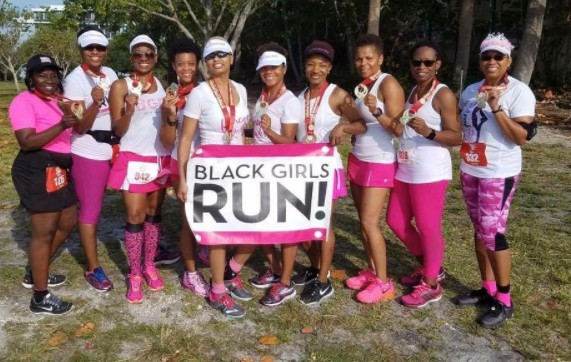 Image taken from Black Girls Run Instagram page.