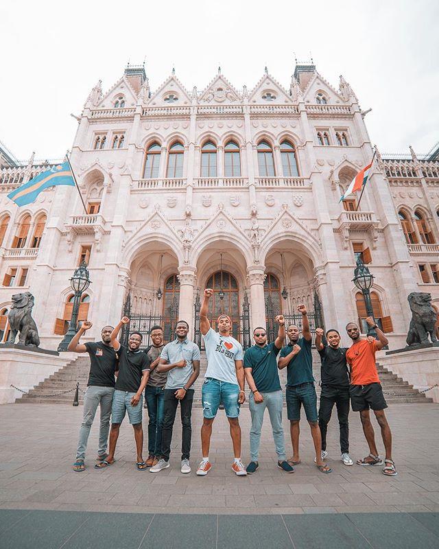 """Brothers N Budapest"" ✊🏾🇭🇺 #Hungary #Budapest #philgoodtravel 📸@thefraserjames"
