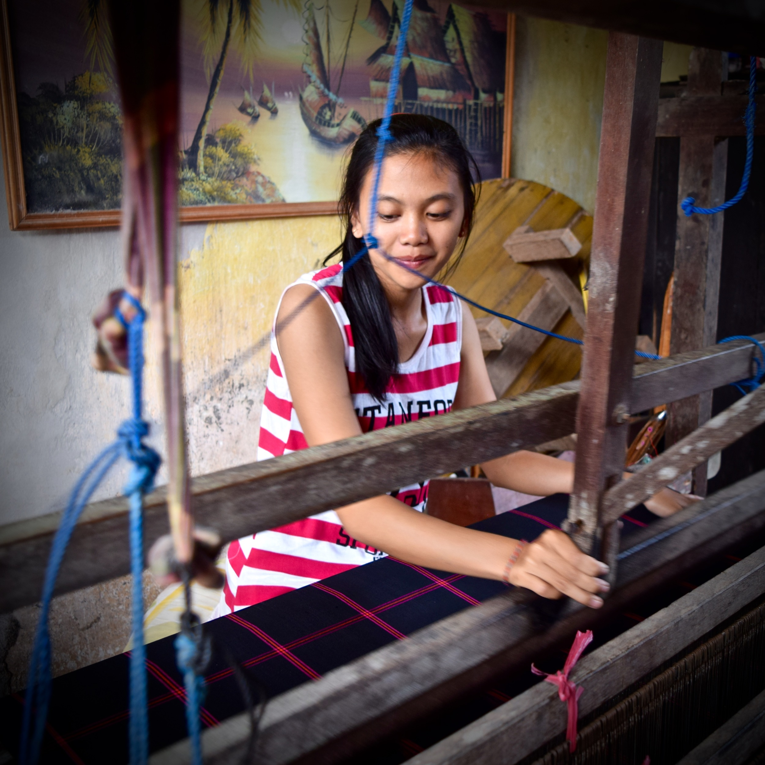 House of Diamonds Indonesia - Batik, Ikat and Kantha - How its made