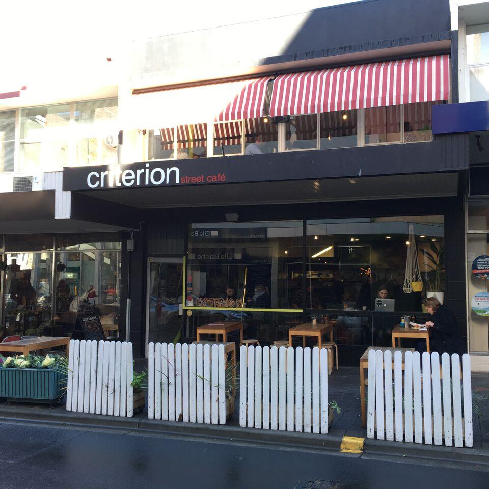 Criterion Street Cafe, Hobart.