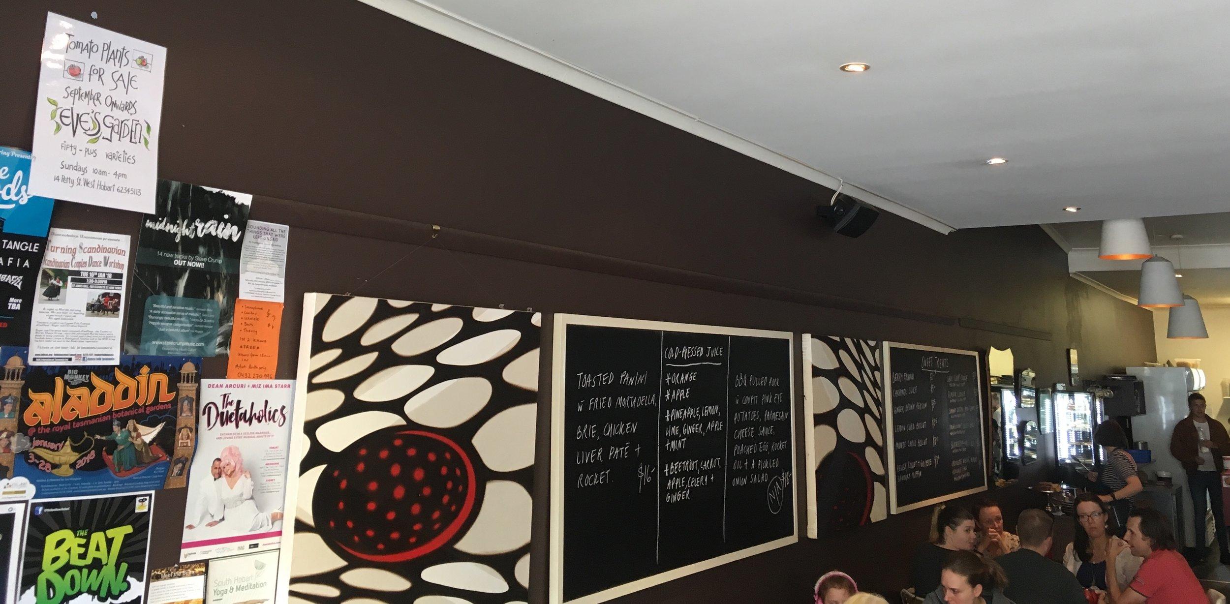 Ginger Brown Cafe, South Hobart
