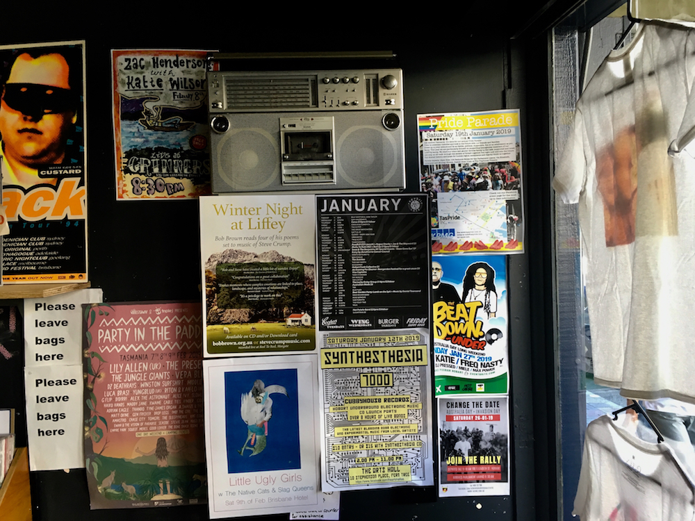 Tommy Gun Records, Hobart.