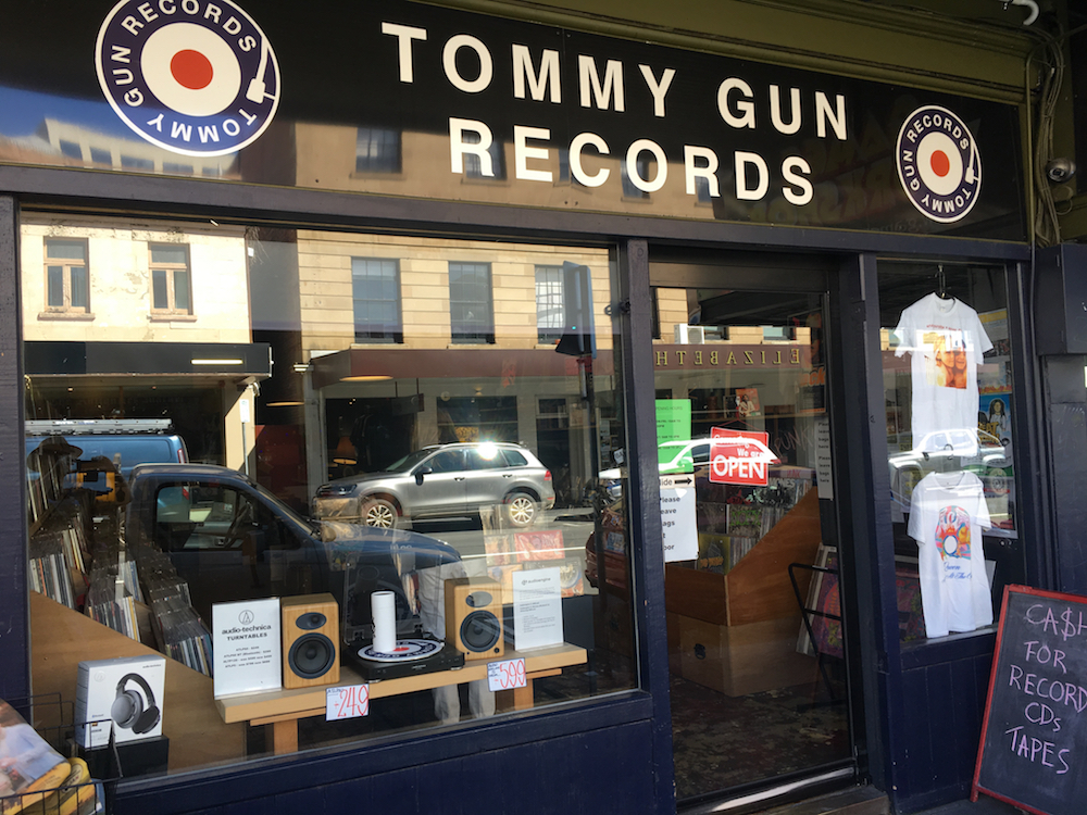 Tommy Gun Records, Hobart.