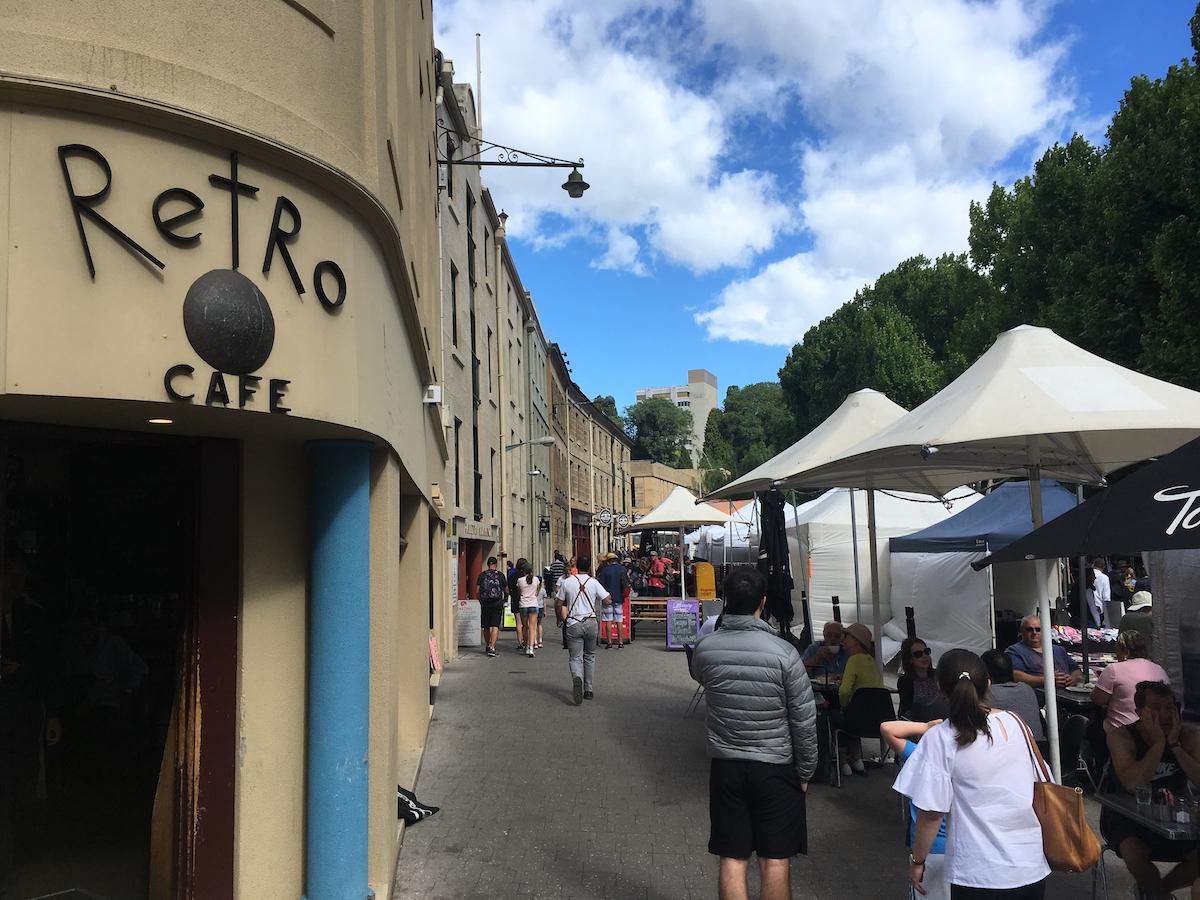 Retro Cafe, Hobart.