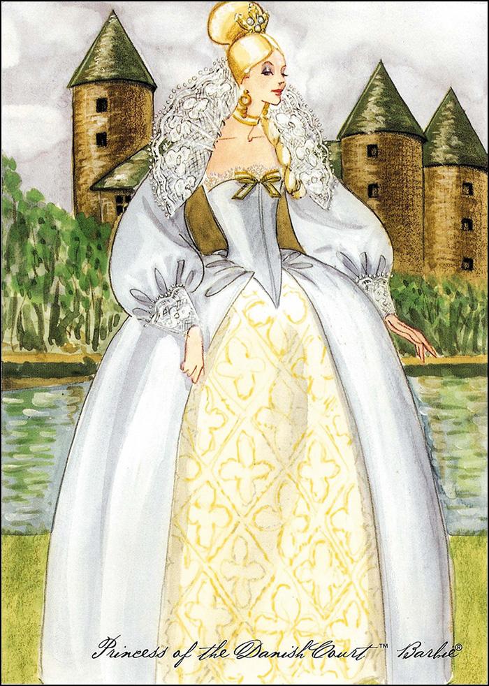 Princess of the Danish Court Barbie