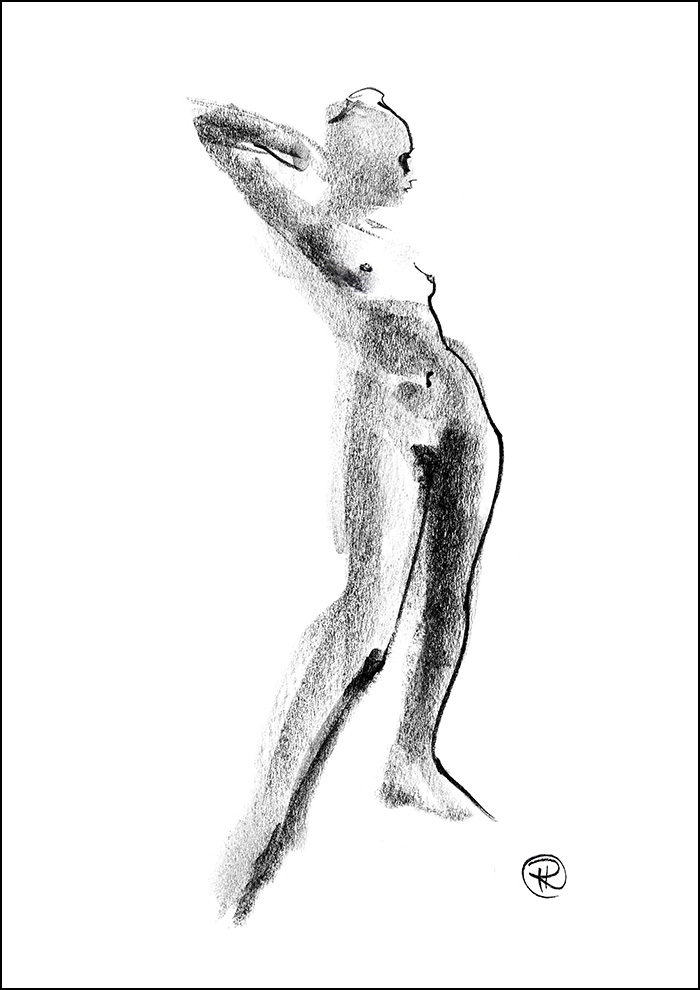Female Nude No. 14