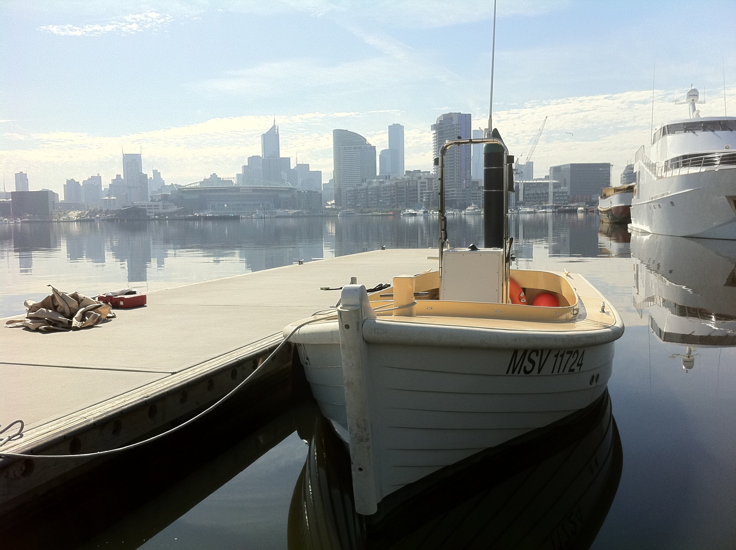 Docklands Launch