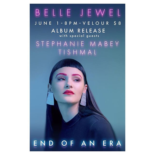 Can't wait to play @bellejewelmusic's release show w/ @Tishmal_ this Friday at @velourlive!💫💖 Ticket link in bio💖💫