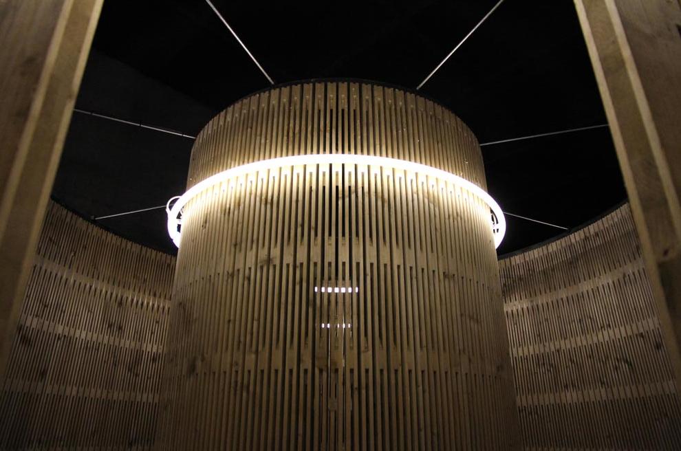 Pavillon gefertigt aus Dukta® Sonar