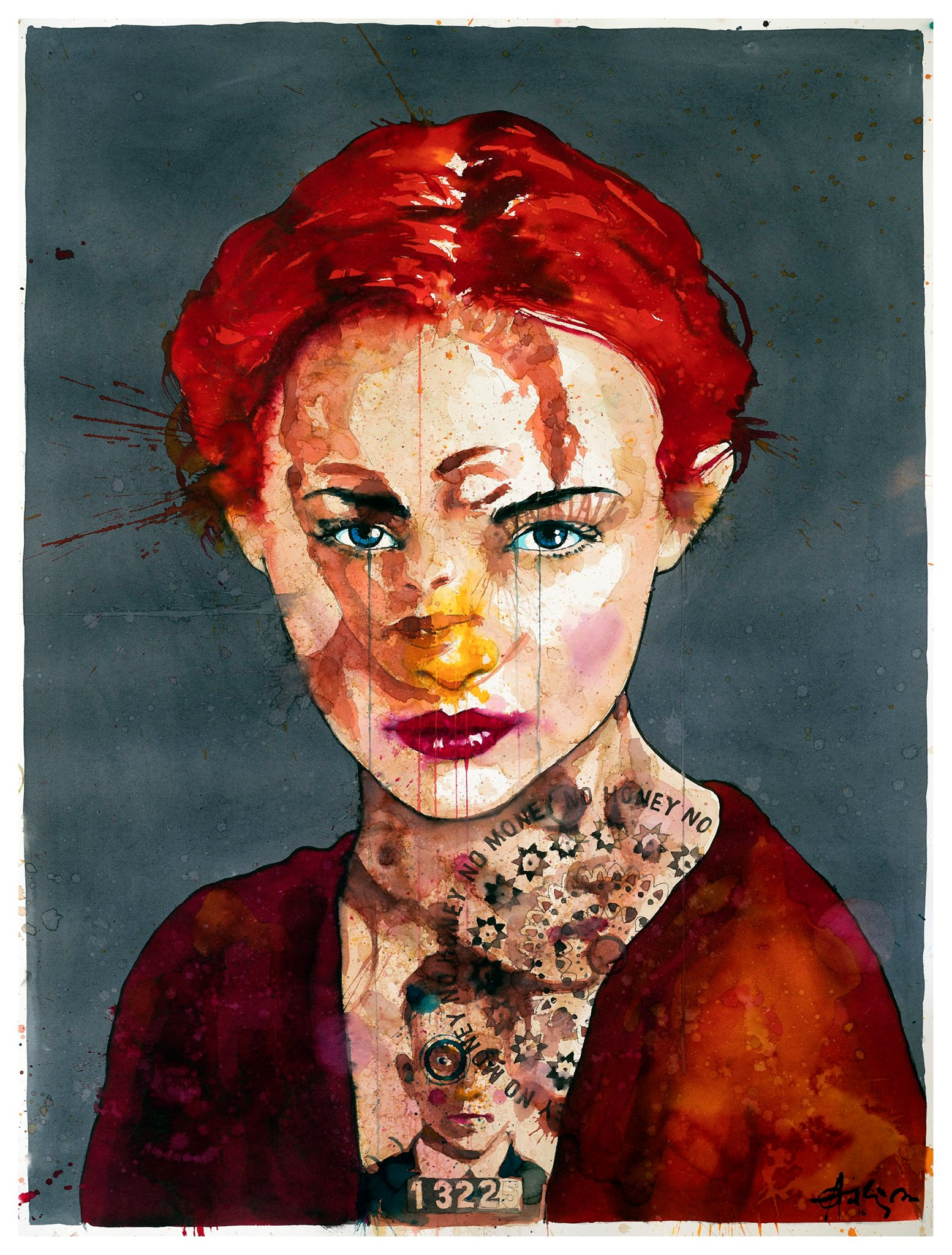 "(SOLD) ""Female Vision"" 152 x 115 cm"