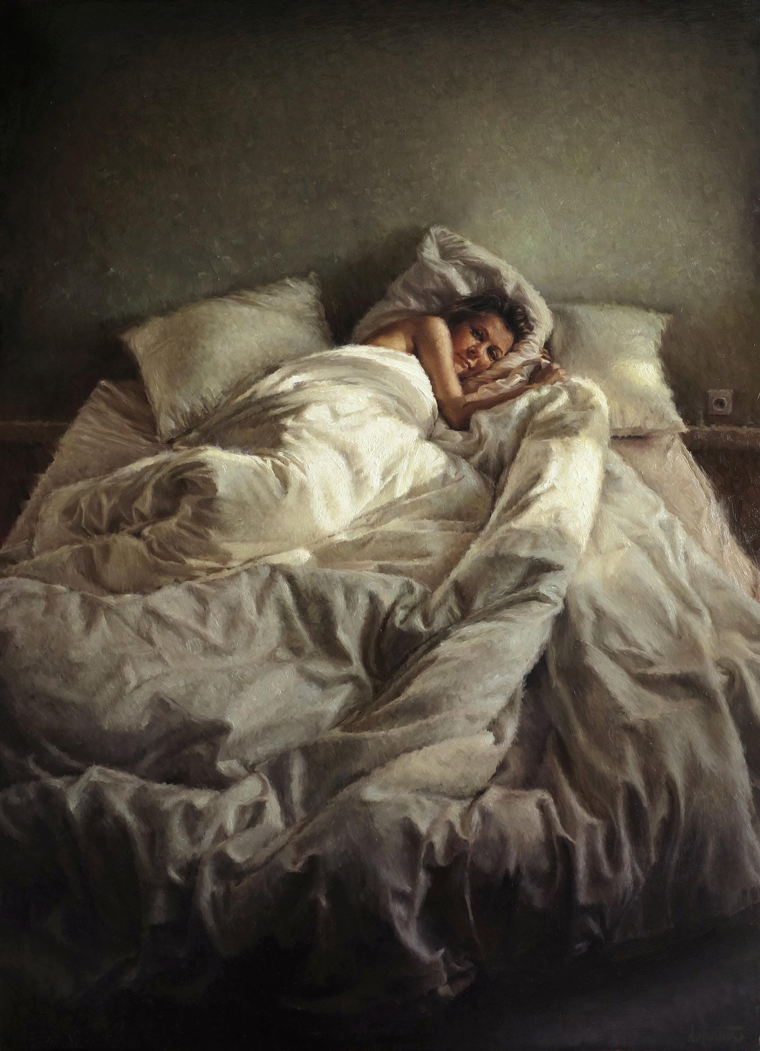 The Wake Up-90cm:65cm-Nicolas Martin-2015-4000Euros.jpg
