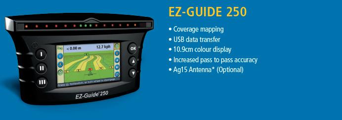 Trimble Guidance Display EZ-Guide 250