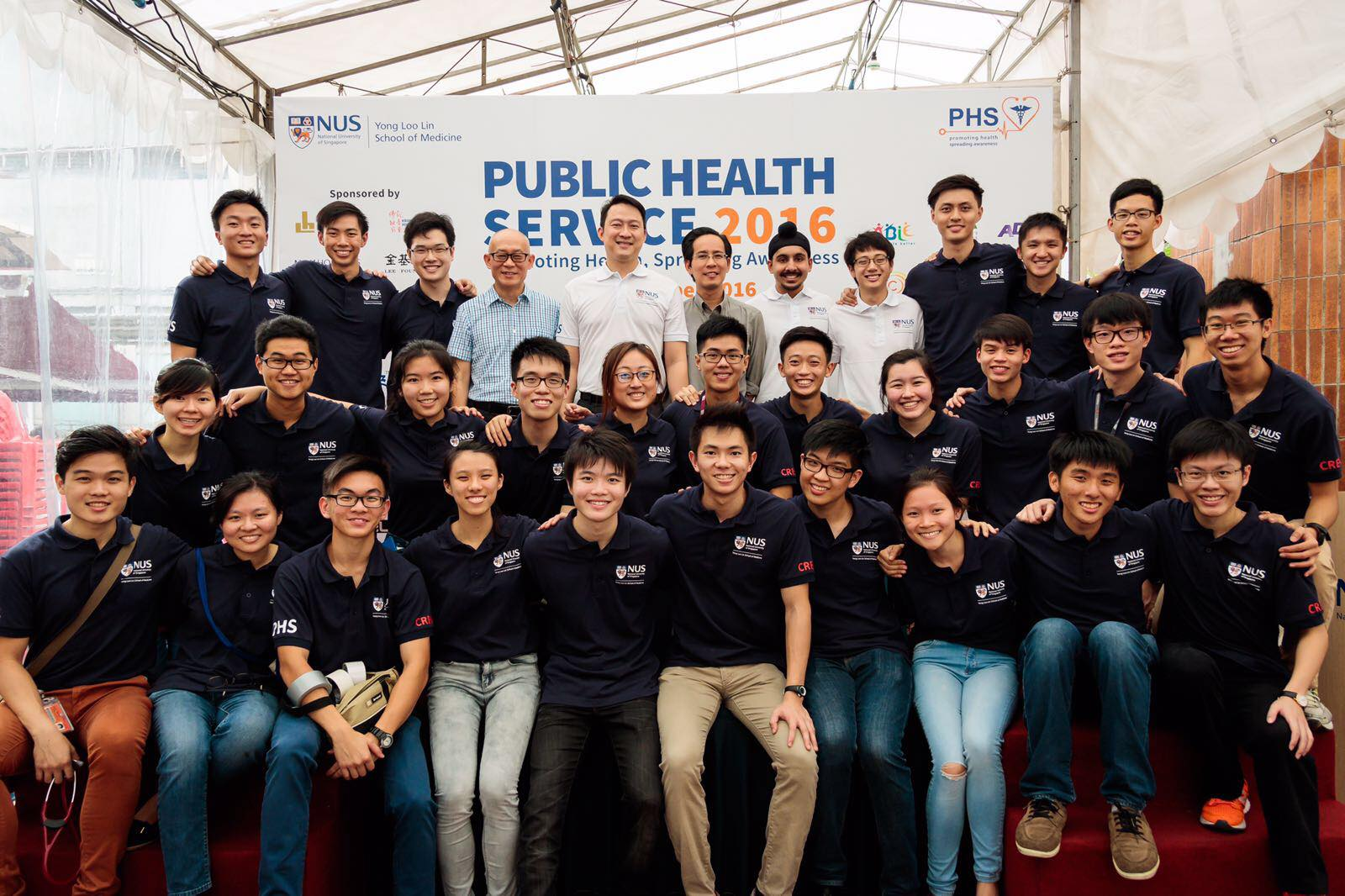 A big thank you to everyone who made PHS 2016 possible. We look forward to serving the community again in 2017.  Yours in service,   The 11th Executive Committee,  NUS Medical Society Public Health Service