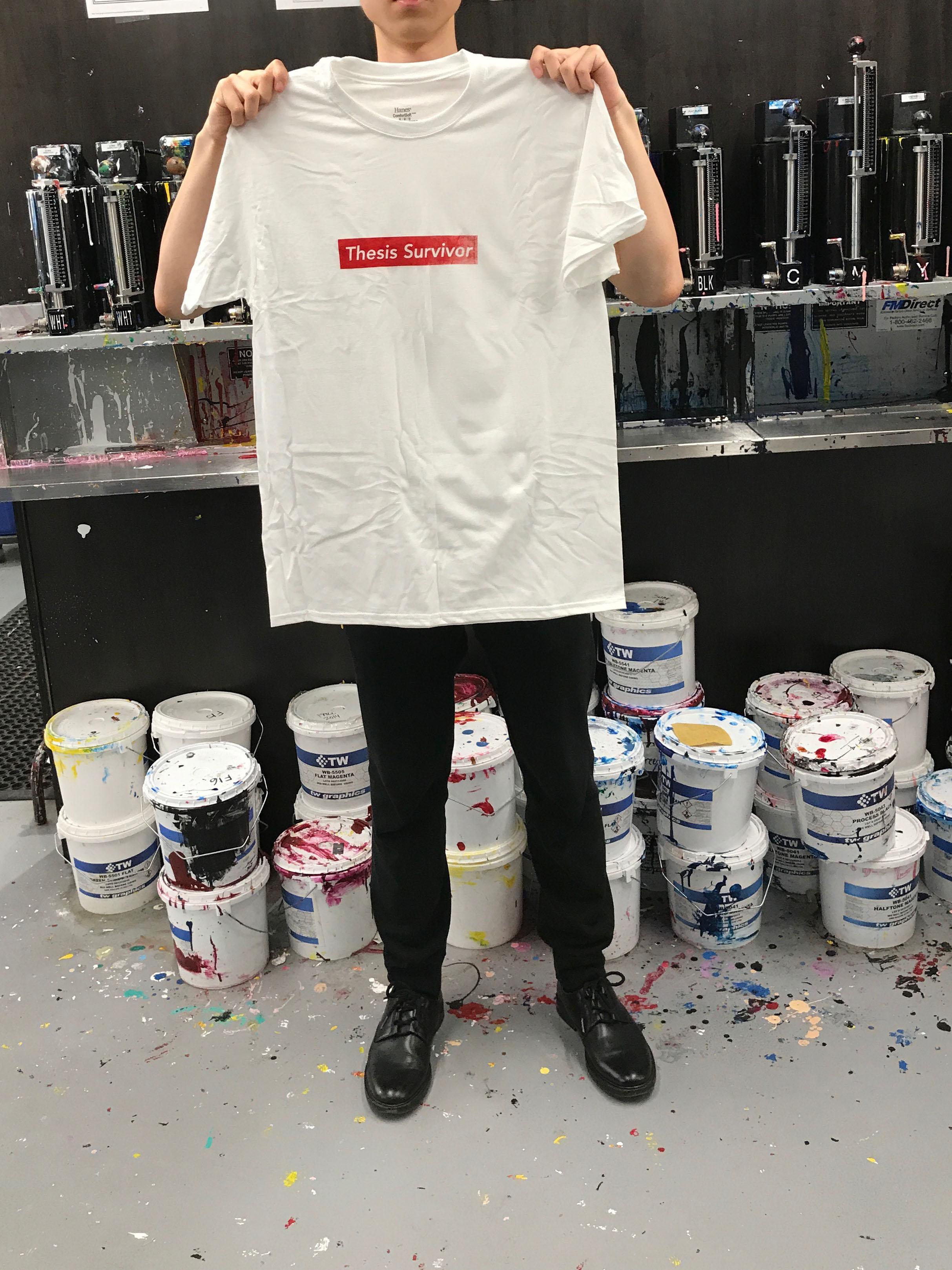 Thesis Survivor T-Shirt