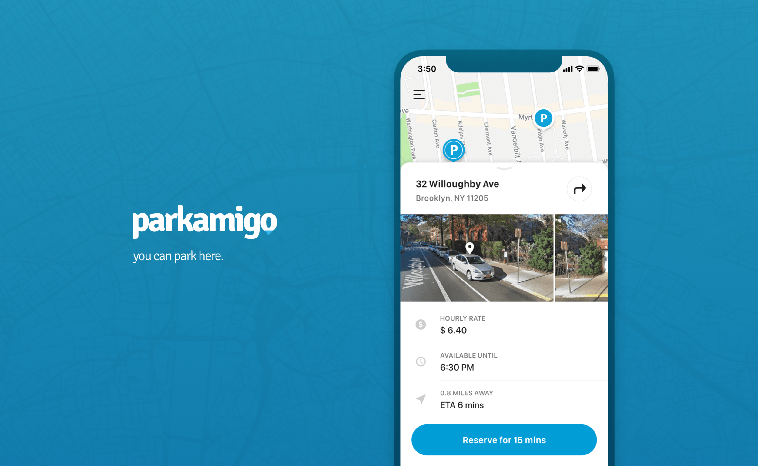 ParkAmigo - Redesigning how to find parking with the driveway sharing platformCase Study