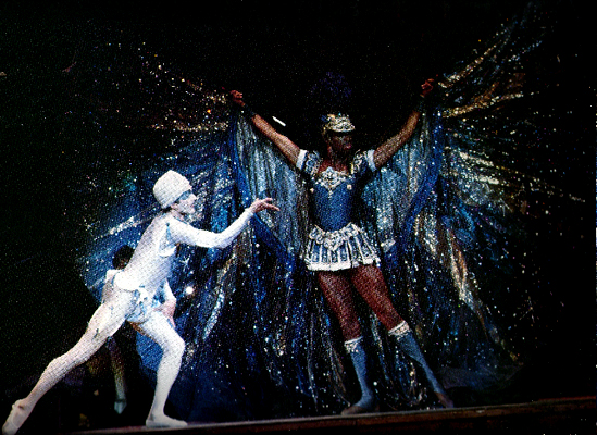 "1979 - Christian Holder as Lord of the Night, with Gary Chryst in ""La Giacconda"", San Francisco Opera. This production starred Pavarotti and Renata Scotto"