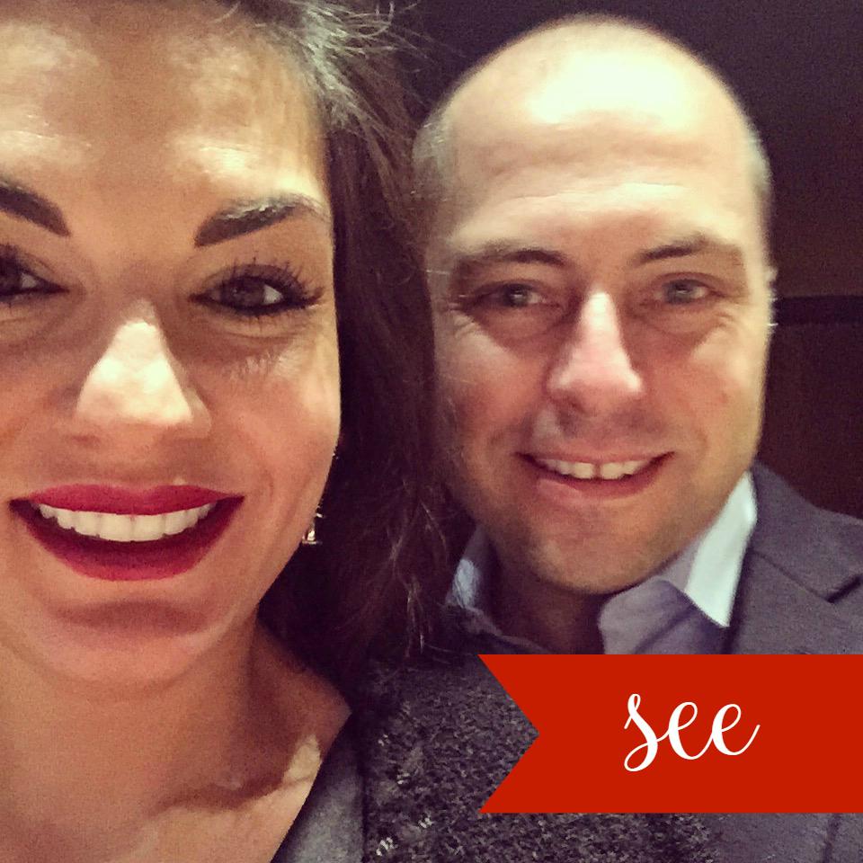 Nicole and Adam O'Neil in Paris