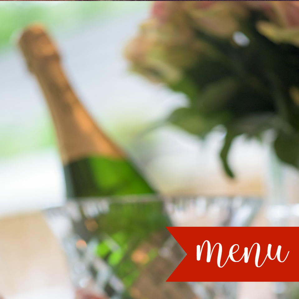 Easy Valentine's Day Menu for 2 with Recipes