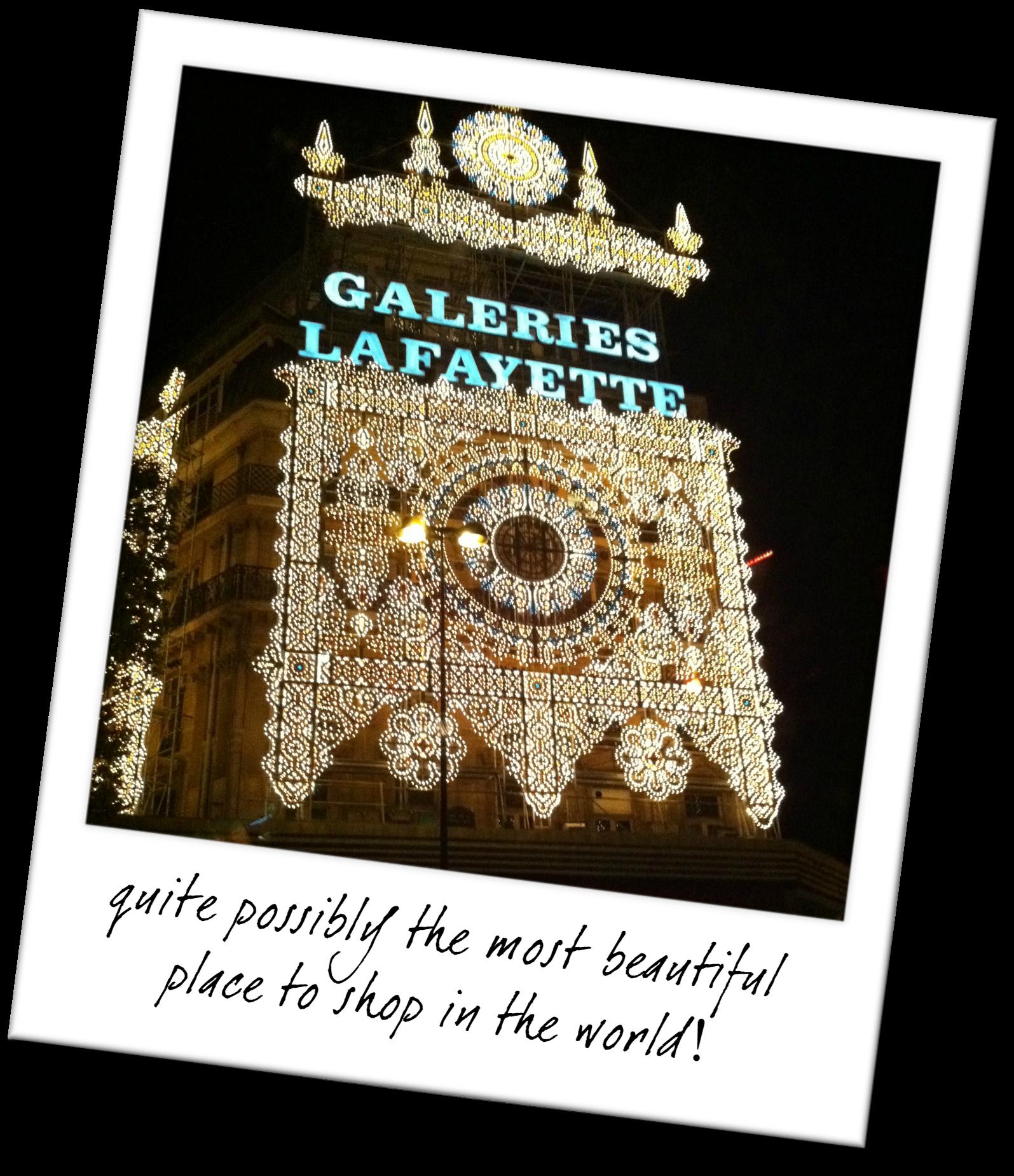 The Best Places to Shop in Paris - Galeries Lafayette