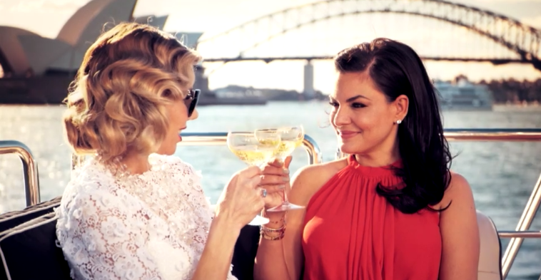 Nicole O'Neil Real Housewives of Sydney Promo Ad