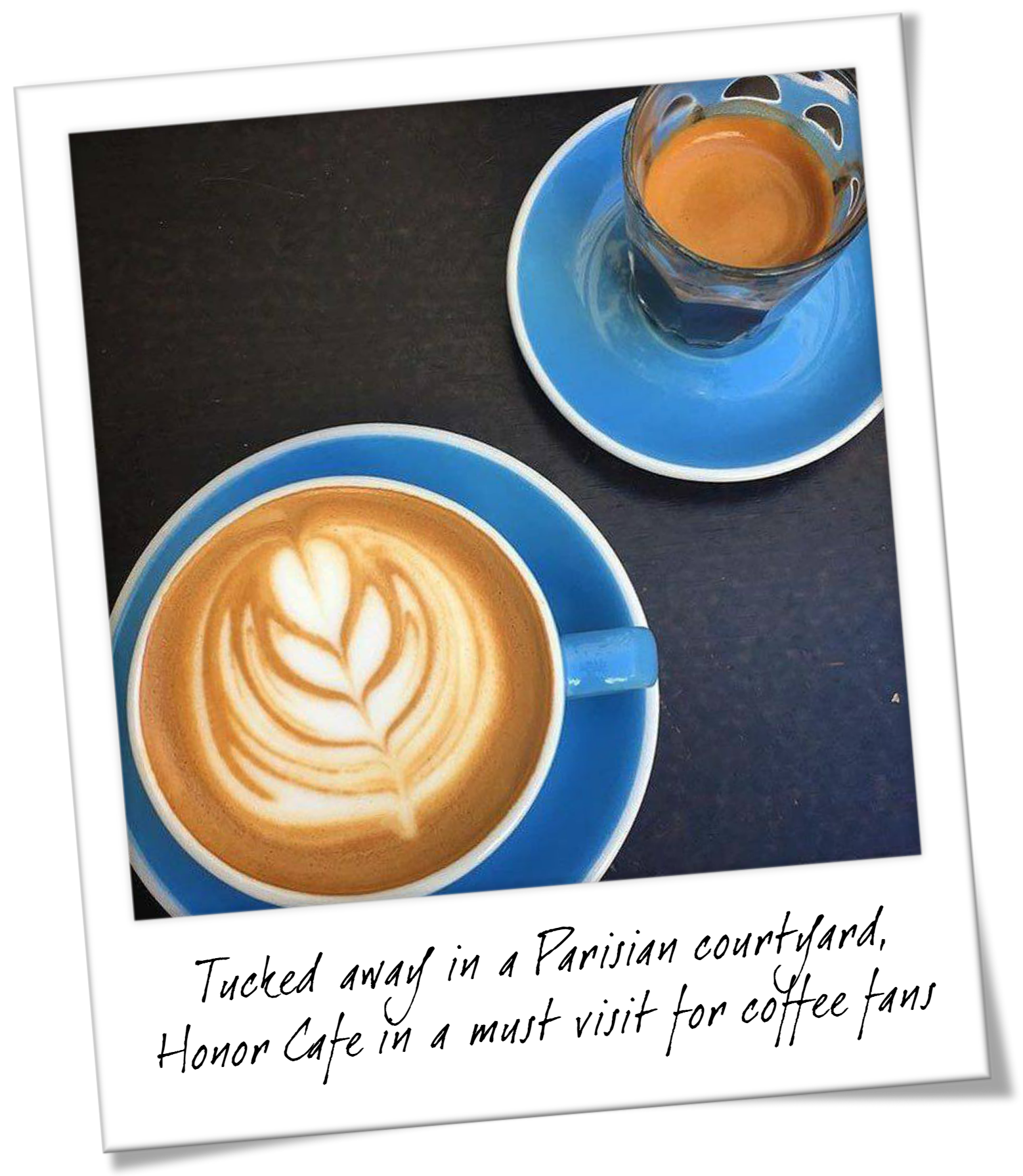 The Best Coffee in Paris France - Parisian Courtyard Cafe Review - Honor Cafe