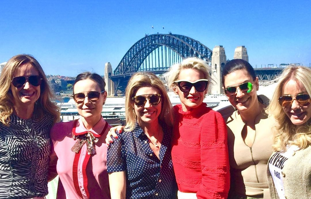 Being back in Sydney means sunshine, sunglasses and fabulous friends!