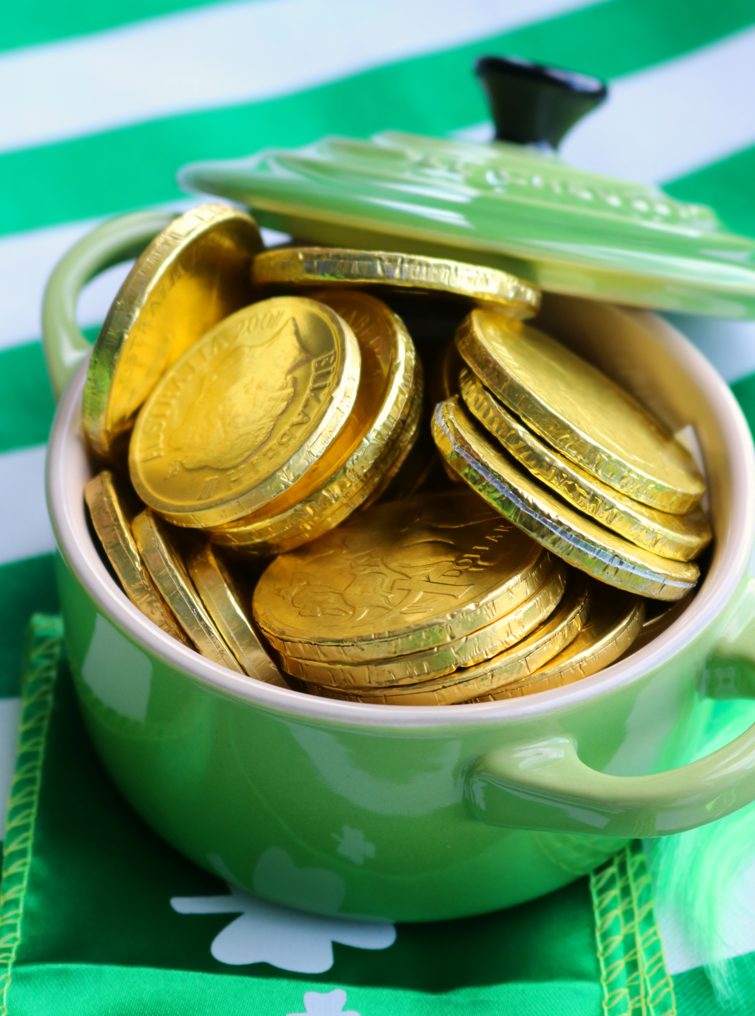 St Patrick's Day Chocolate Coins