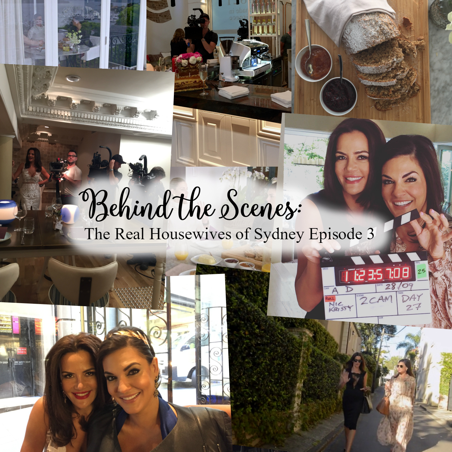 Behind the Scenes of The Real Housewives of Sydney Episode 3 Season 1  - Nicole O'Neil