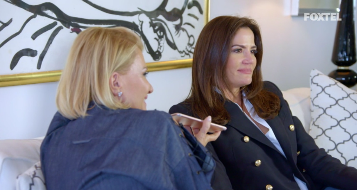 Krissy and Victoria Talk to the Private Investigator - The Real Housewives of Sydney Episode 3 Season 1 Recap S01E03