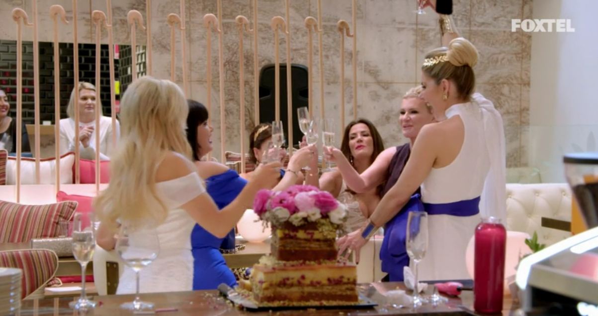 Girls Trip Announcement - The Real Housewives of Sydney Season 1 Episode 3