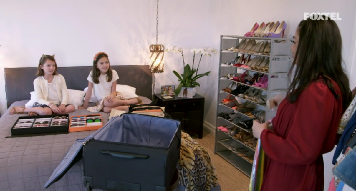Nicole and the Girls Packing  - The Real Housewives of Sydney Episode 4 Season 1 Recap S01E04