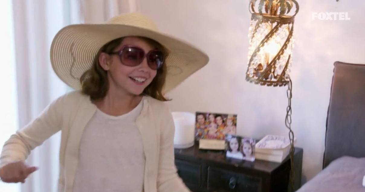 Neve Playing Dress Ups  - The Real Housewives of Sydney Episode 4 Season 1 Recap S01E04
