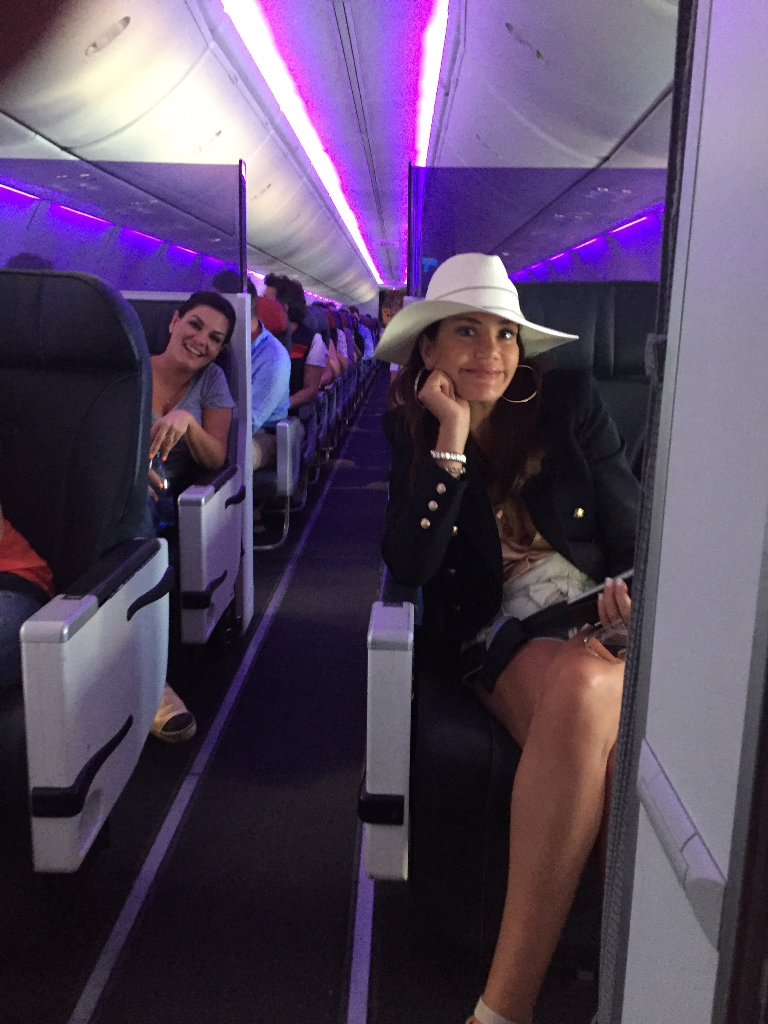 Behind the Scenes of The Real Housewives of Sydney Episode Four -  girls on the plane.jpg