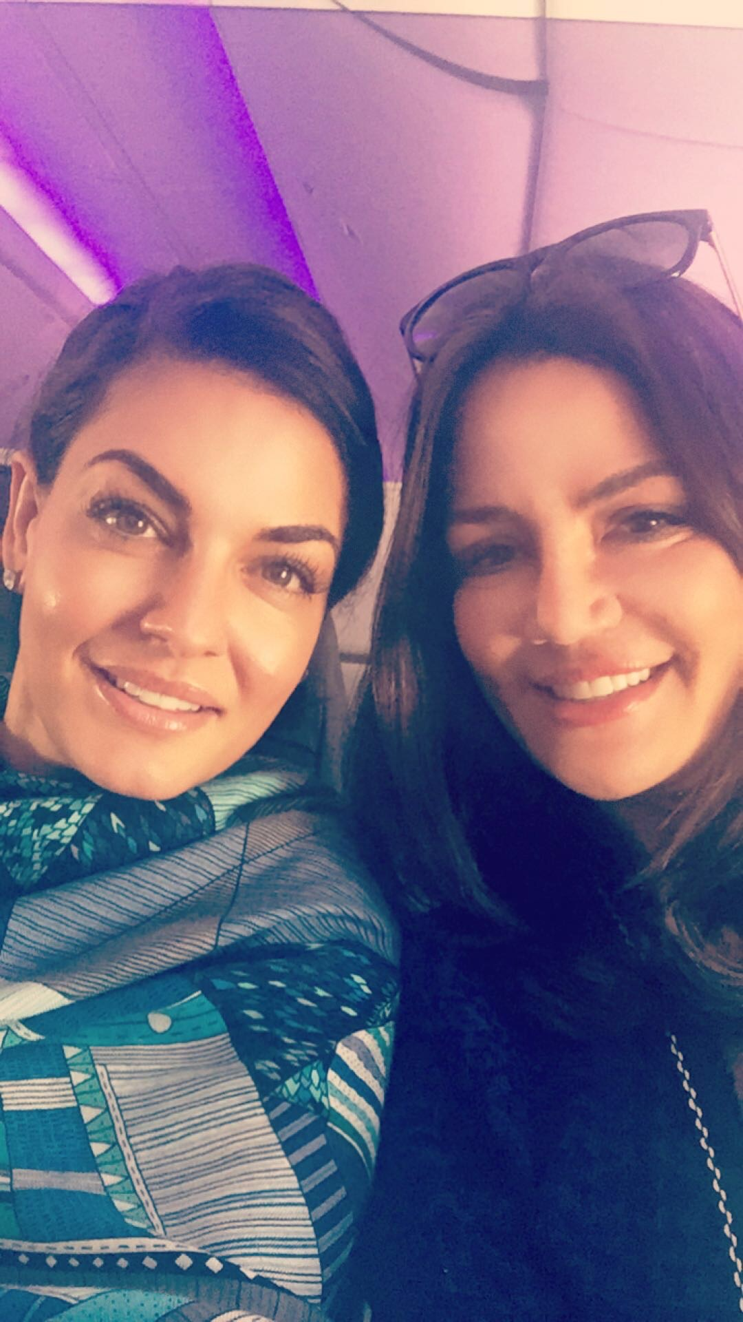 Behind the Scenes of The Real Housewives of Sydney Episode Four - Krissy and Nicole On Board the Flight to The Whitsundays.jpg