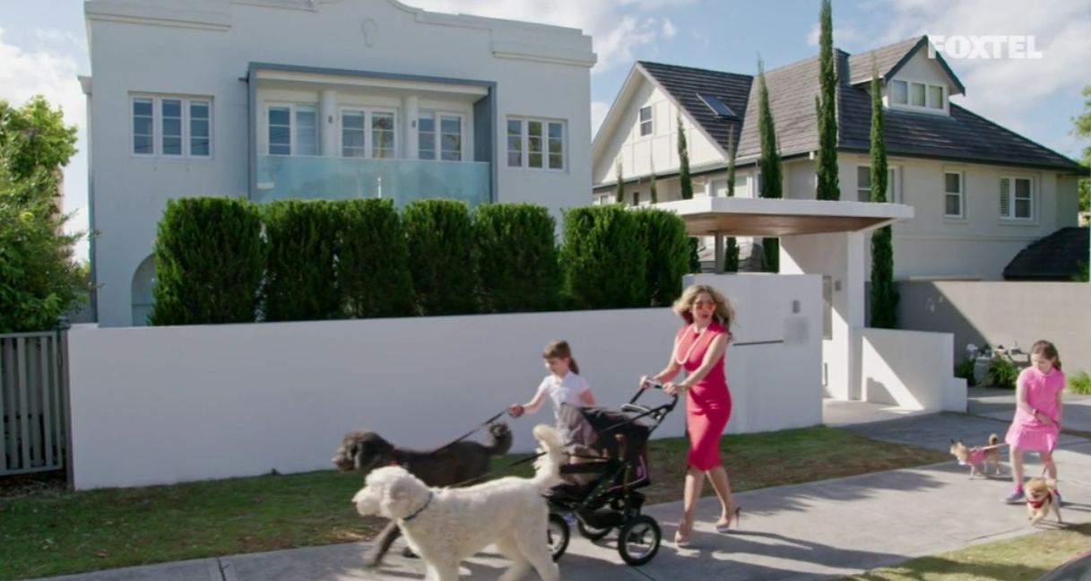 Matty and her girls walk the dogs - The Real Housewives of Sydney Episode 5 Season 1 Recap S01E05