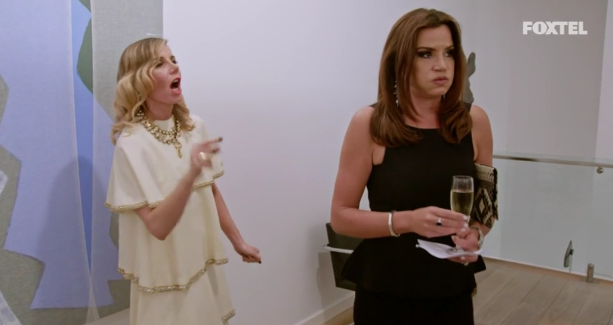 Krissy walks away from AthenaX - The Real Housewives of Sydney Episode 5 Season 1 Recap S01E05