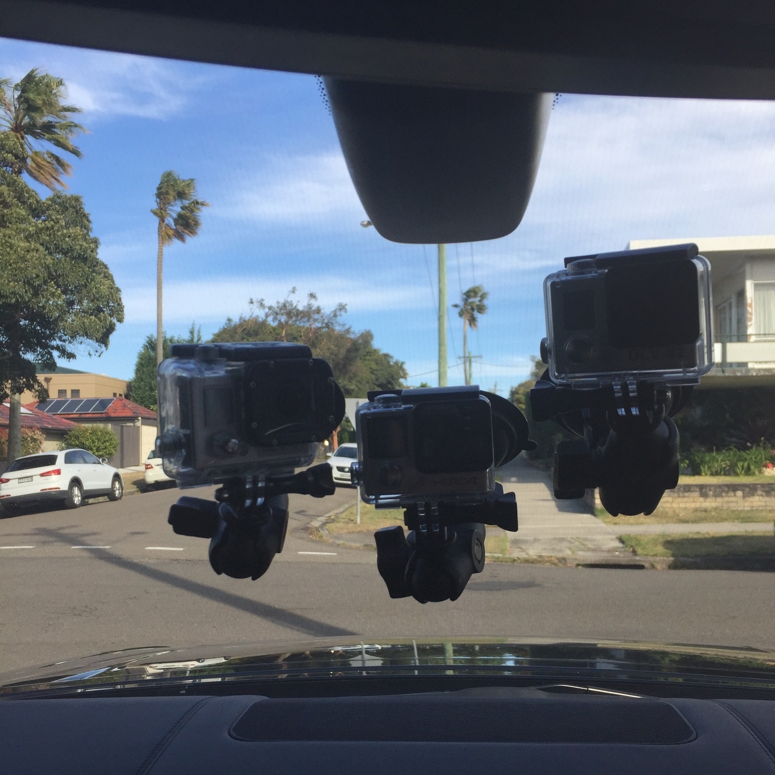Behind the Scenes of The Real Housewives of Sydney - Car Camera Set Up