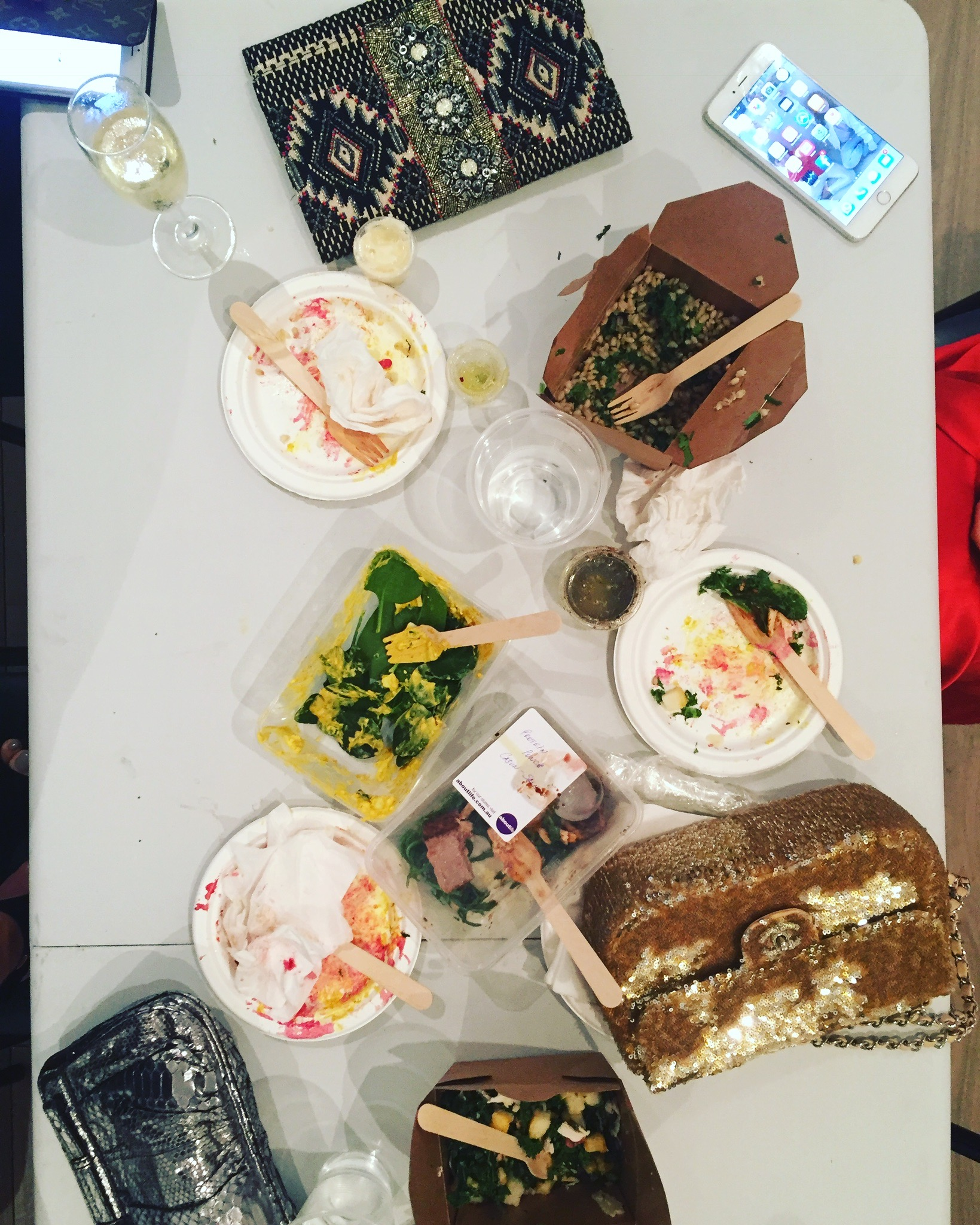Behind the Scenes of The Real Housewives of Sydney - Crew Dinner