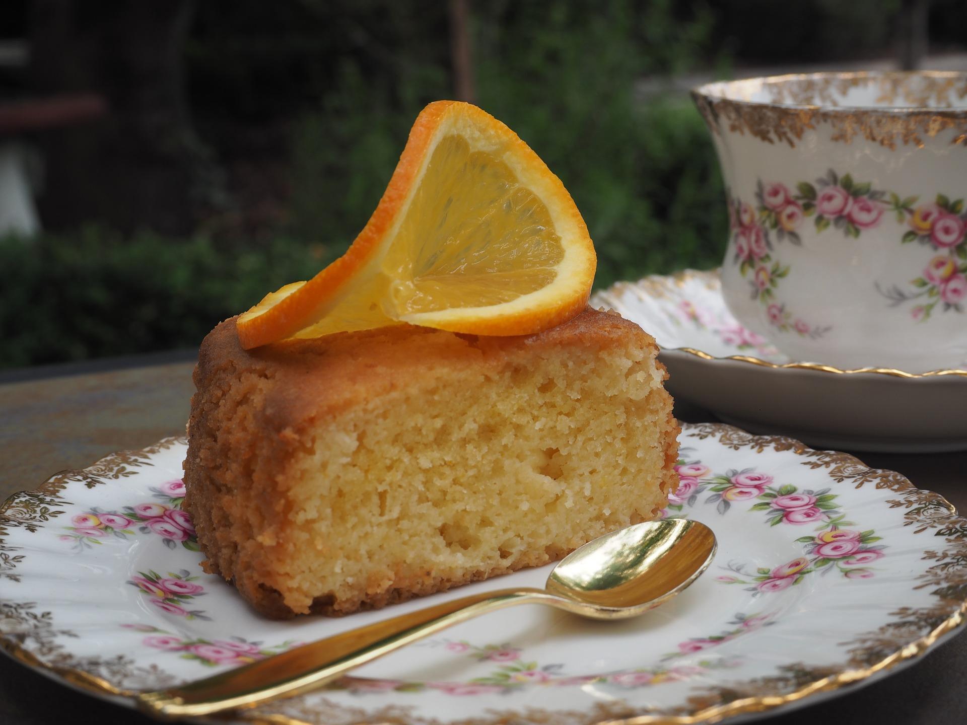 Persian Flourless Orange and Almond Cake Recipe