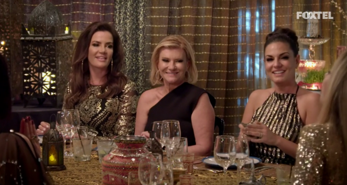 Krissy, Victoria and Nicole at Matty's Persian Party - The Real Housewives of Sydney Episode 6 Recap Season 1