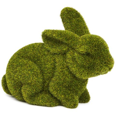 Rogue Large Crouching Moss Bunny - $9