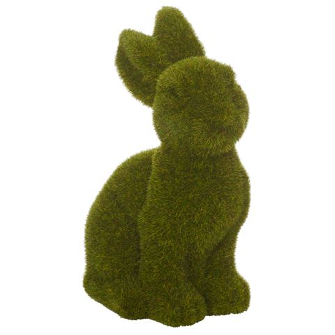 Rogue Medium Sitting Moss Bunny - $10