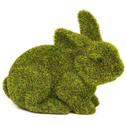 Rogue Small Crouching Moss Bunny - $5